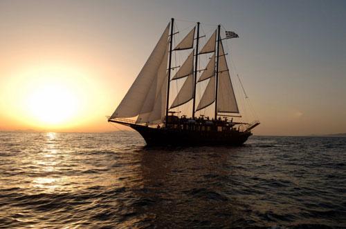Santorini Sailing Cruises Catamaran Caldera Tours Santorini