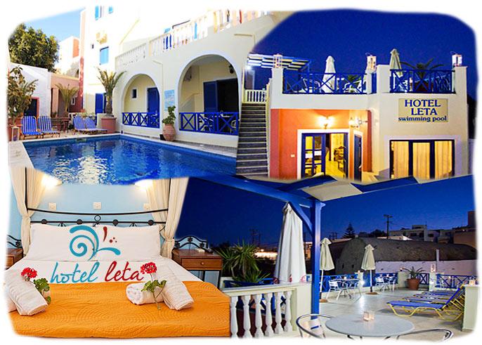 Santorini Hotels Fira Hotel Leta Santorini Greece